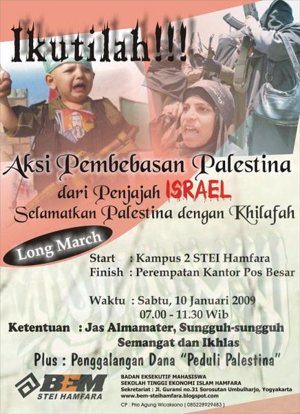 Aksi Pembebasan Palestina Dengan Khilafah